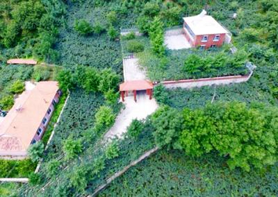 老邊墻村基地全景
