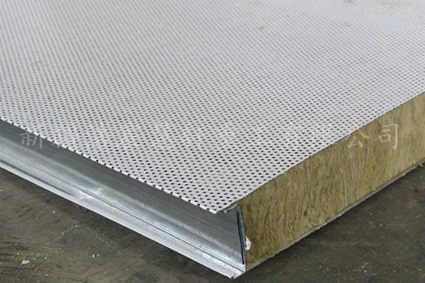 彩鋼吸音板6