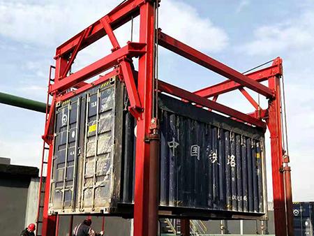 连体式集装箱吊机