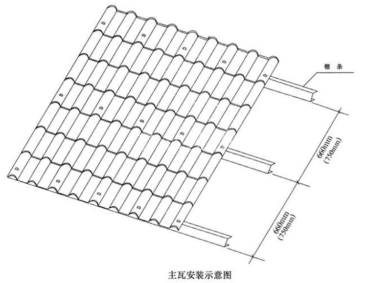 新疆T型树脂瓦