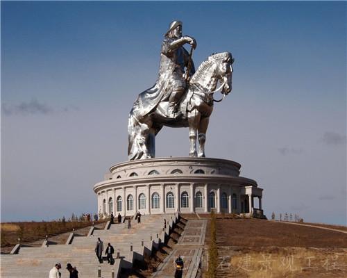 传统景观人物雕塑