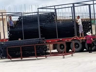 江苏莱氟隆环保设备有限公司有机硅袋笼发货-客户值得信赖