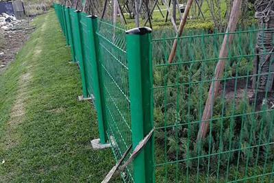 水城桃形柱圍網
