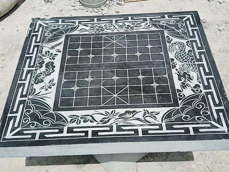 河北方形石桌