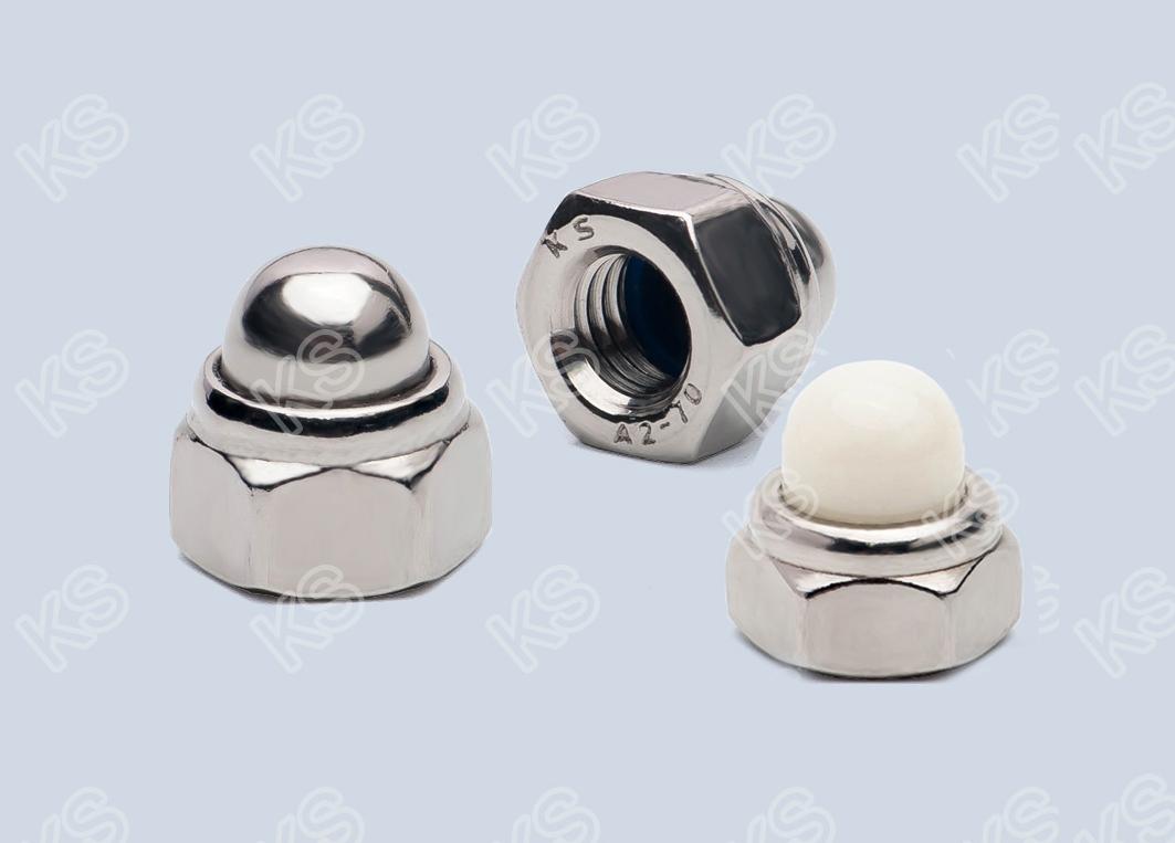非金屬嵌件蓋形螺母