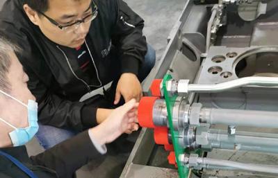 錦東液壓與中國航天科工配套研發特種車輛液壓系統