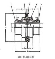 蛇簧联轴器