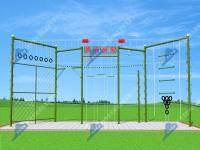 LXCZ-M2型心理行为训练高空器材